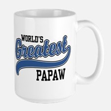 World's Greatest PaPaw Large Mug