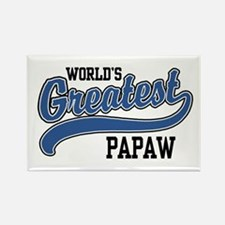 World's Greatest PaPaw Rectangle Magnet