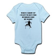 Run The Hurdles Like My Daddy Body Suit