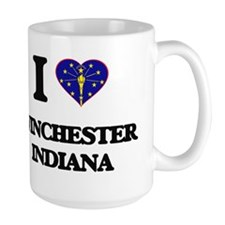 I love Winchester Indiana Mugs