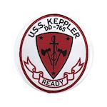 USS KEPPLER Button