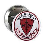 """USS KEPPLER 2.25"""" Button"""