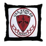 USS KEPPLER Throw Pillow