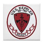 USS KEPPLER Tile Coaster