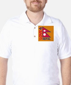 Love For Nepal T-Shirt