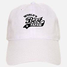 World's Best PaPaw Baseball Baseball Cap