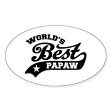 World's Best PaPaw Decal