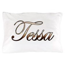 Gold Tessa Pillow Case