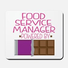 Food Services Manager Mousepad