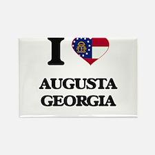 I love Augusta Georgia Magnets
