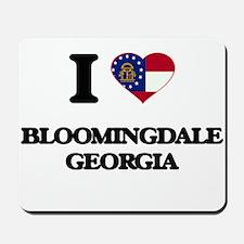 I love Bloomingdale Georgia Mousepad