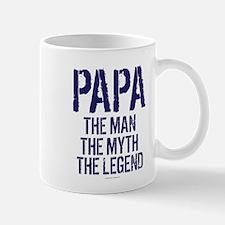 Papa, Man, Myth, Legend Mugs