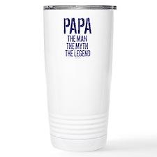 Papa, Man, Myth, Legend Travel Mug