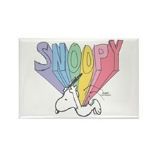 Snoopy Rainbow Magnets