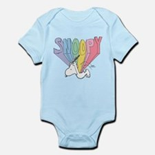 Snoopy Rainbow Body Suit