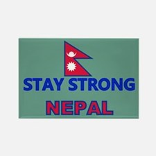 Stay Strong Nepal Magnets
