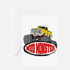 Mud Monster Greeting Card