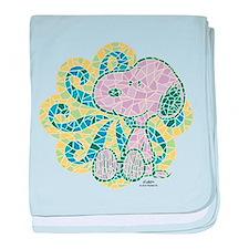 Snoopy Mosaic baby blanket