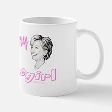 Hillary Homegirl drk Mugs