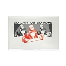 Go Kart or Go Home Rectangle Magnet
