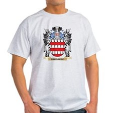Barbarou Coat of Arms - Family Crest T-Shirt