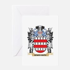 Barbarou Coat of Arms - Family Cres Greeting Cards