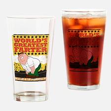 Family Guy World's Greatest Farter Drinking Glass