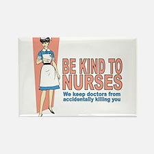 Cute School nursing Rectangle Magnet