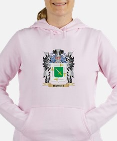 Barbet Coat of Arms - Fa Women's Hooded Sweatshirt