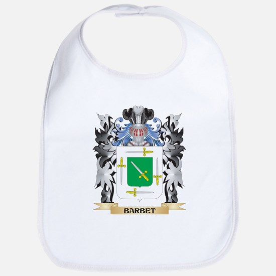 Barbet Coat of Arms - Family Crest Bib