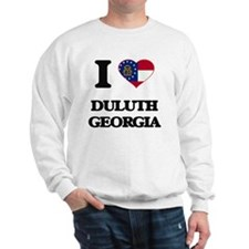 I love Duluth Georgia Sweatshirt