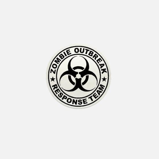 Zombieresponseteambiocircle Mini Button (10 Pack)