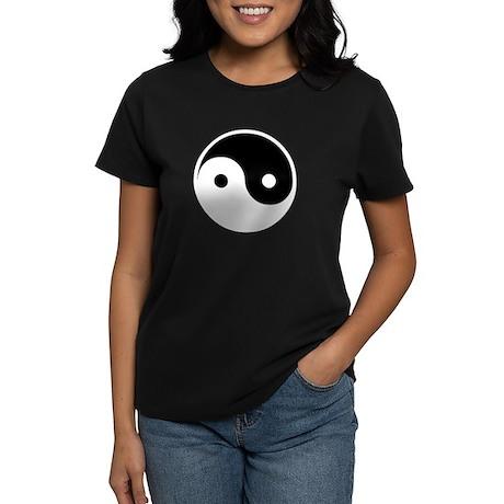 Yin and Yang Women's Dark T-Shirt