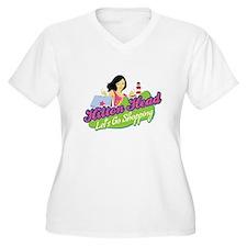 Hilton Head Lets Go Shopping Plus Size T-Shirt