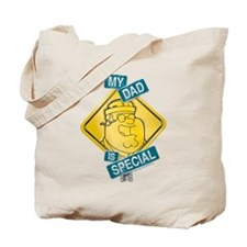 Family Guy My Dad is Special Tote Bag