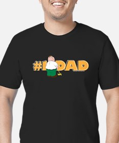 Family Guy #1 Dad Men's Fitted T-Shirt (dark)
