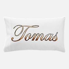 Gold Tomas Pillow Case