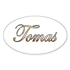 Gold Toma Decal