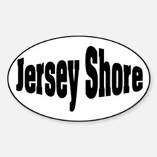 Jersey Shore Oval Oval Decal