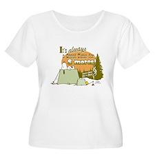 Snoopy Smores Plus Size T-Shirt