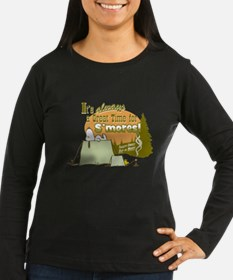 Snoopy Smores Long Sleeve T-Shirt