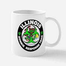 Illinois Zombie Response Tea Green Mugs