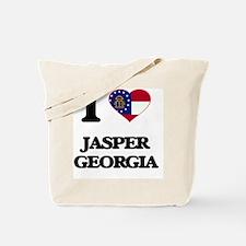 I love Jasper Georgia Tote Bag