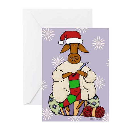 Crochet sheep Greeting Cards (Pk of 20)