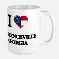 I love Lawrenceville Georgia Mugs