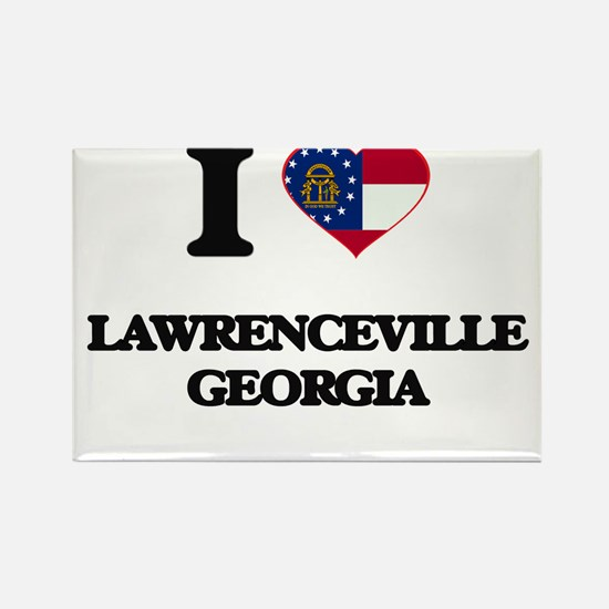I love Lawrenceville Georgia Magnets