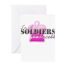 Soldiers Princess Greeting Card