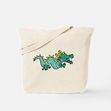 Happy Dragon Tote Bag