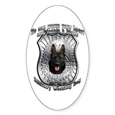 He's a MWD Oval Decal