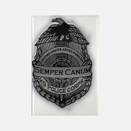 Semper Canum Rectangle Magnet